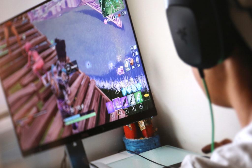Games wie Fortnite verbauchen viel Bandbreite im Netz; Rechte: WDR/Schieb