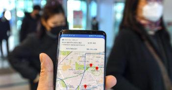 Südkoreanische Corona-App