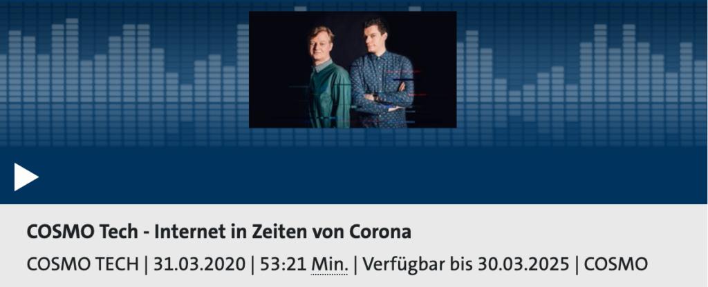 Cosmotech Podcast Ausgabe 24; Rechte: WDR