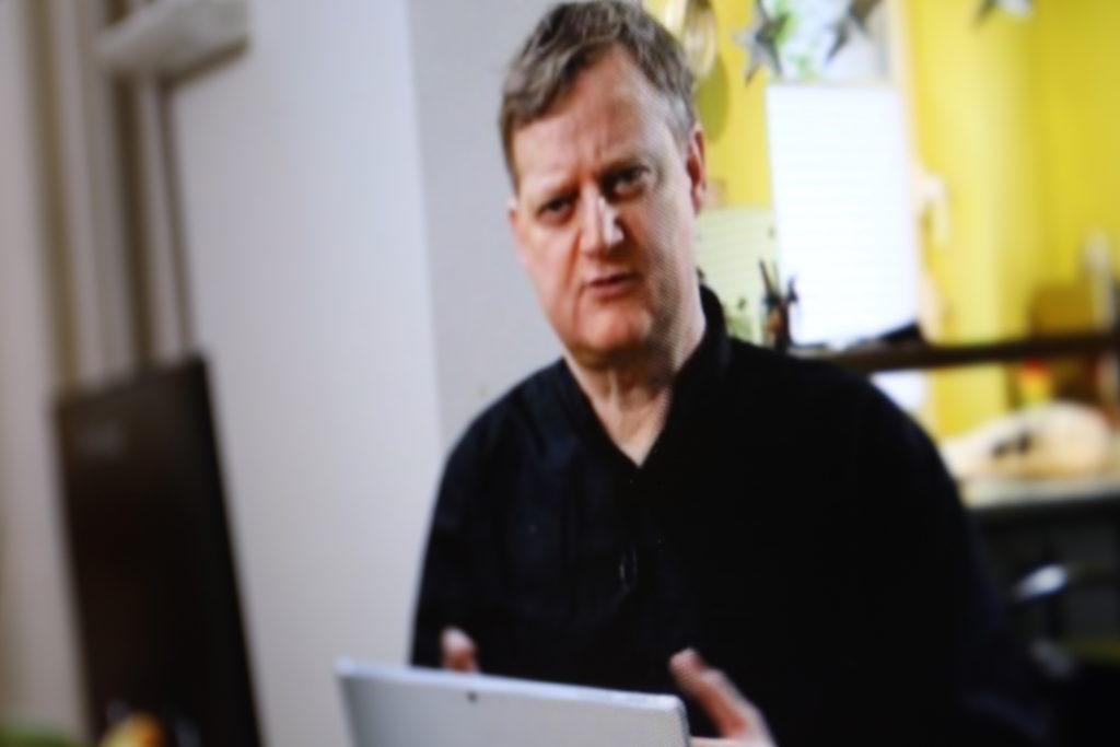 Jörg Schieb im HoneOffice; Rechte: WDR/Schieb