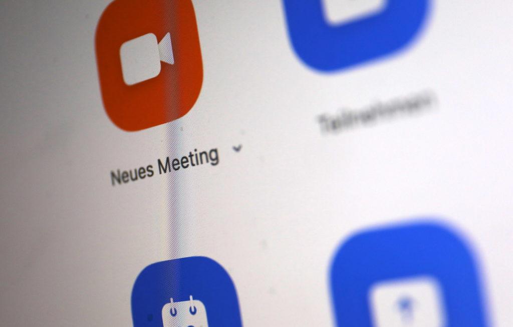 Das Chat-System Zoom profitiert derzeit am meisten vom Boom; Rechte: WDR/Schieb