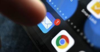 Mail-App auf iPhon starten; Rechte: WDR/Schieb