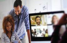 Video Chats mit Zoom boomen gerade; Rechte: WDR/Schieb