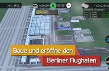 "Eine Szene aus dem Game ""BER Bausimulator"". Bild: Illusive Reflection"