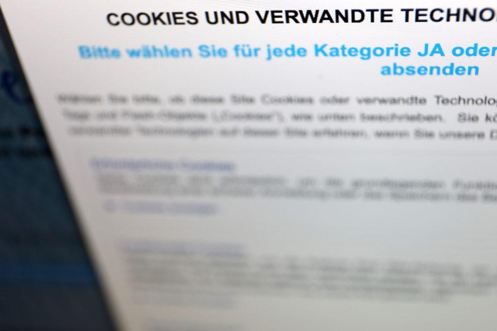 Ellenlange Cookie-Abfragen und Genehmigungen; Rechte: WDR/Schieb