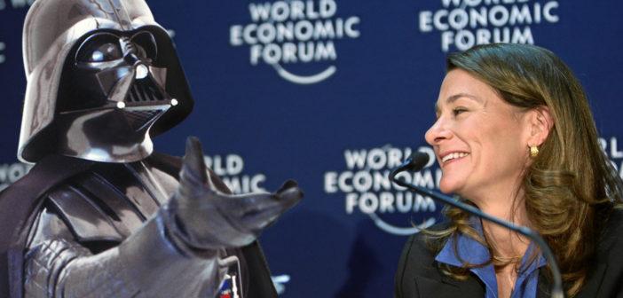 Bill und Melinda Gatesm Rechte: World Economic Forum/Schieb/WDR
