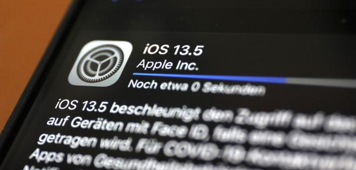 iOS 13.5 hat die Bluetooth-Schnittstellt für Corona-Apps eingebaut; Rechte: WDR/Schieb