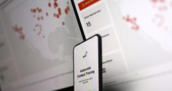 PWC hat ein Konzept für Contact Tracing im Office entwickelt; Rechte: WDR/Schieb