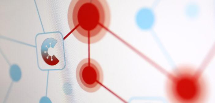 Corona Warn App Netzwerk; Rechte: WDR/Schieb