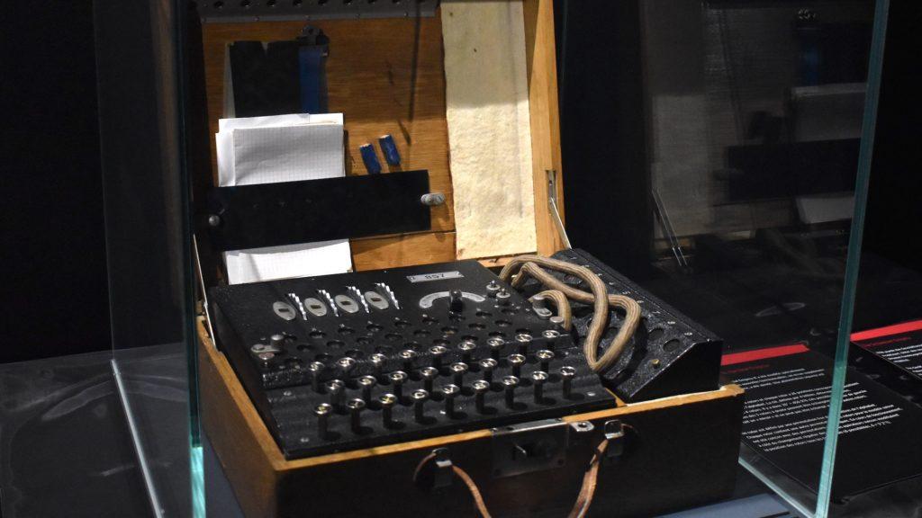 Verschlüsselung hat es schon im zweiten Weltkrieg gegeben; Rechte: WDR