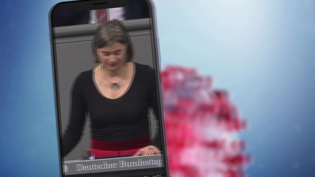 Anke Domscheit-Berg warnt vor Risiken beim Datenschutz; Rechte: WDR/Schieb