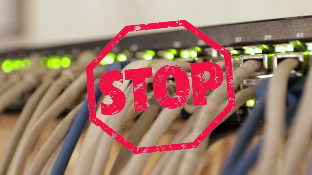 Netzsperren sind die Ultima Ratio; Rechte: WDR/Schieb