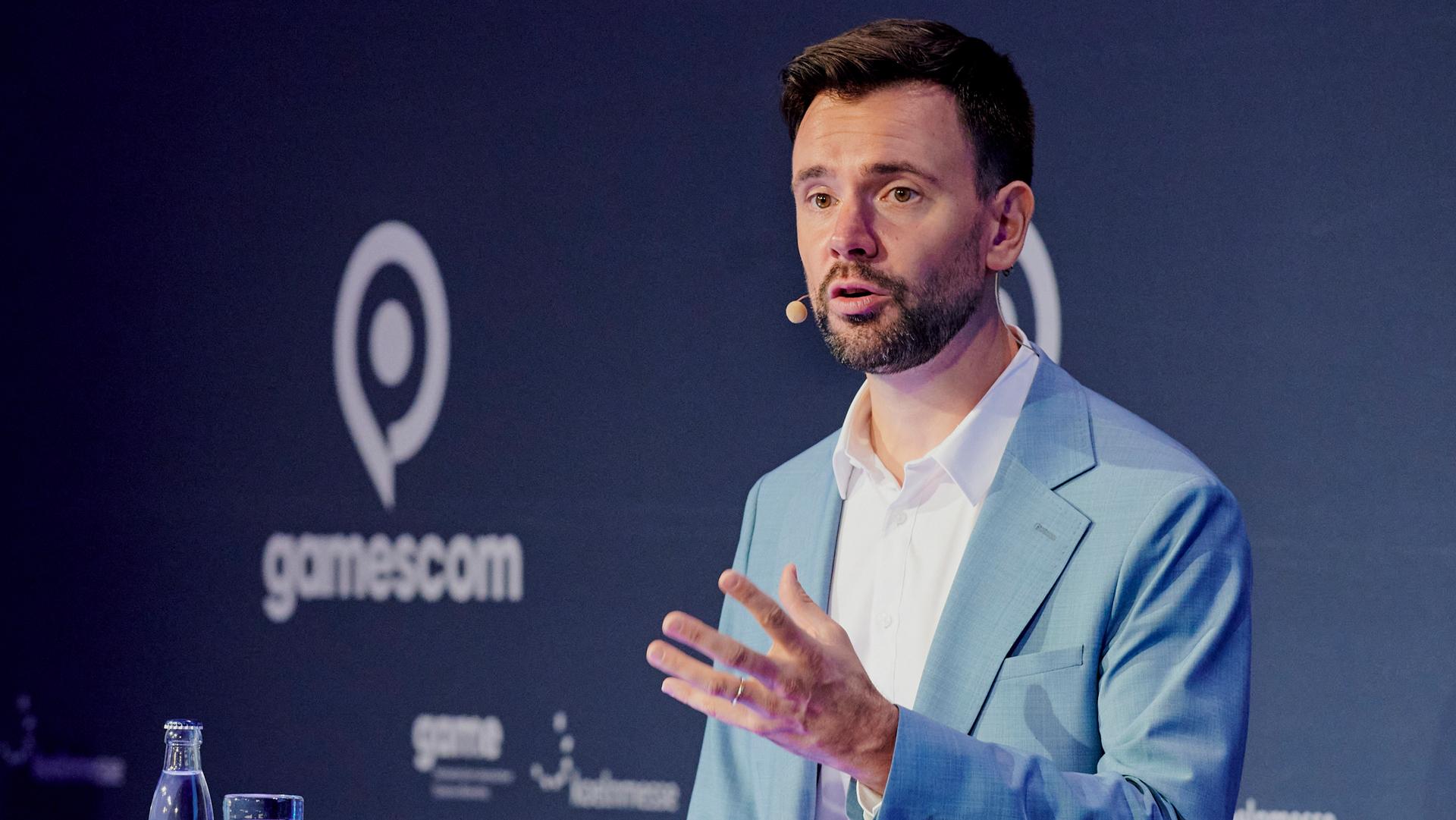 Felix Falk ist Geschäftsführer vom Branchenverband Game. Bild: Koelnmesse