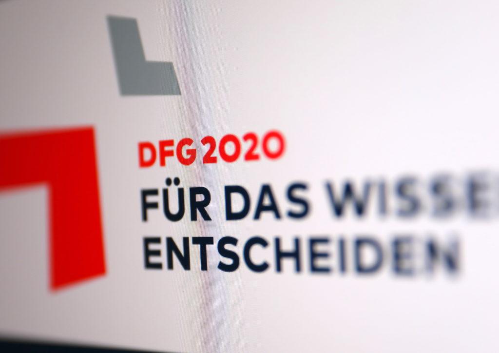 DFG Motto: Für das Wissen entscheiden; Rechte: WDR/Schieb