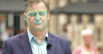 Jörg Schieb Gesichts-Scan; Rechte: WDR/Schieb