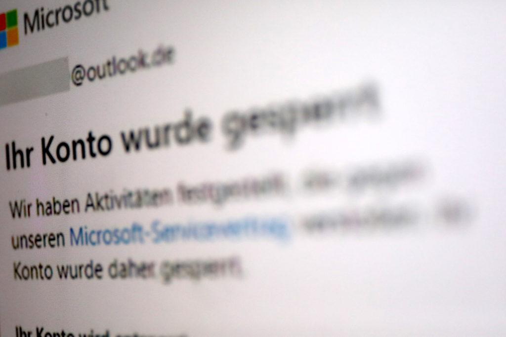 Wenn Microsoft ohne Vorwarnung Dein Konto sperrt; Rechte: WDR/Schieb