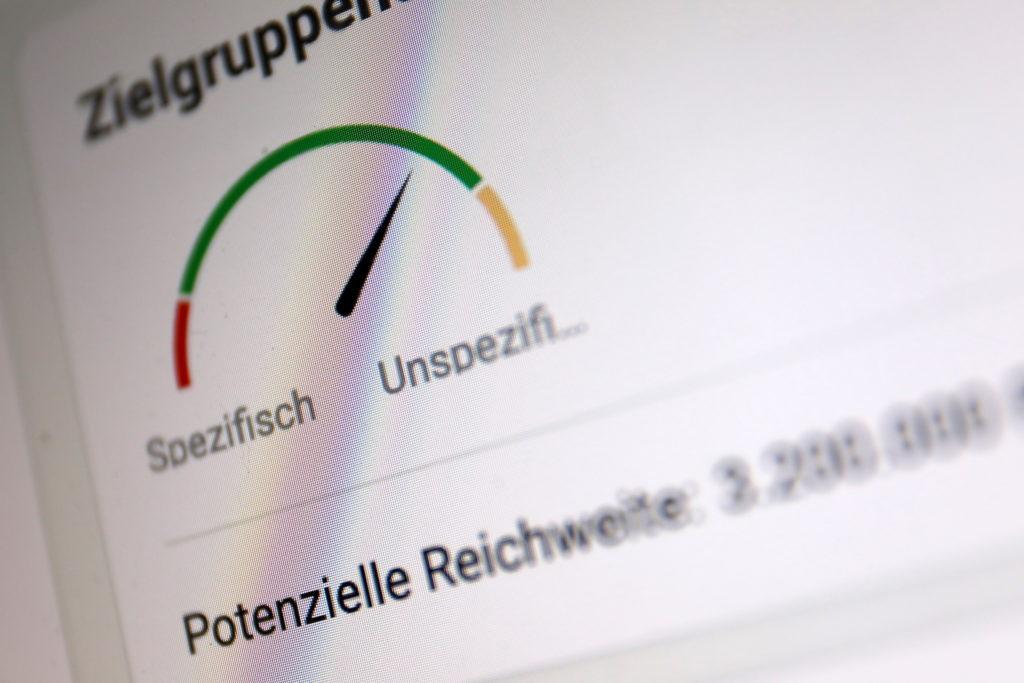 Facebook Ads: So detailliert wie nirgendwo sonst einzustellen; Rechte: WDR/Schieb