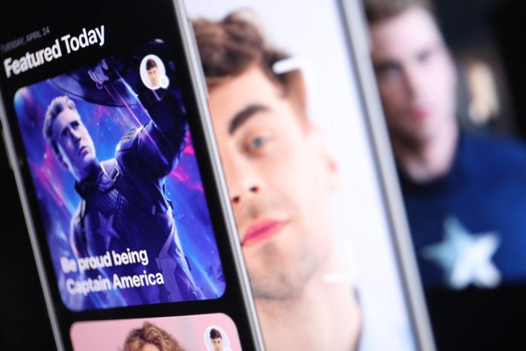 Reface App ersetzt Gesichter in Videos und GIFs; Rechte: WDR/Schieb