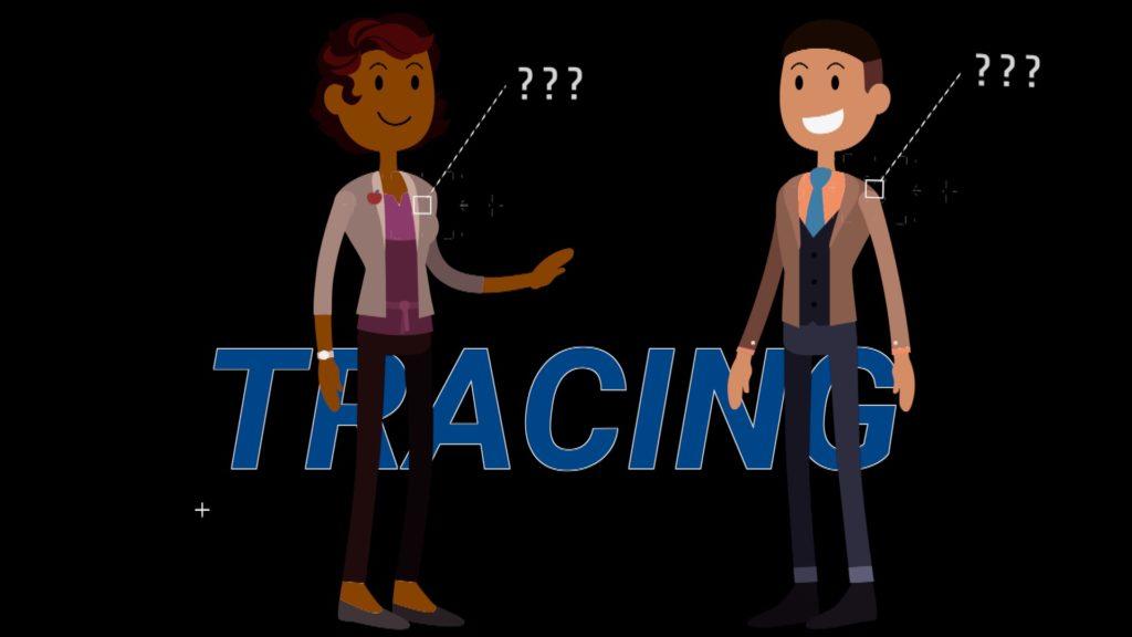Tracing statt Tracking: Die Corona Warn App hat nur wenige Daten; Rechte: WDR/Schieb