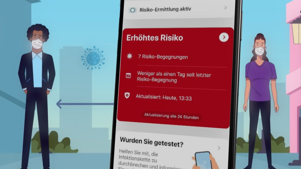 Die Corona Warn App schlägt viel zu selten an; Rechte. WDR/Schieb