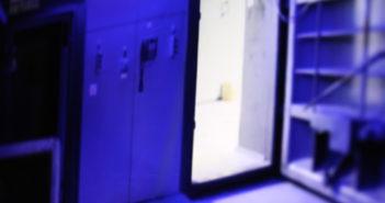 Ein Rechenzentrum, betrieben in einem Bunker - um Darknet-Angebote zu hosten; Rechte: WDR/Schieb