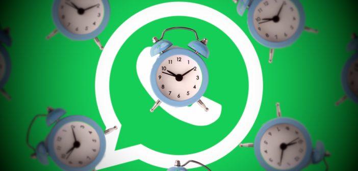 WhatsApp Timer. Nachrichten, die sich nach einer Zeit selbst löschen; Rechte: WDR/Schieb