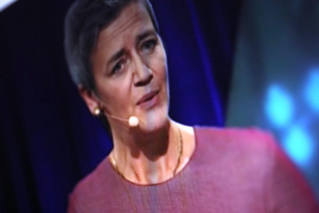 EU-Digitalkommissarin Magrethe Vestager; Rechte: WDR/Schieb