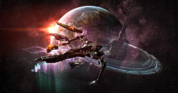 """Eine Szene aus dem Spiel """"Eve Online"""". Bild: CCP Games"""