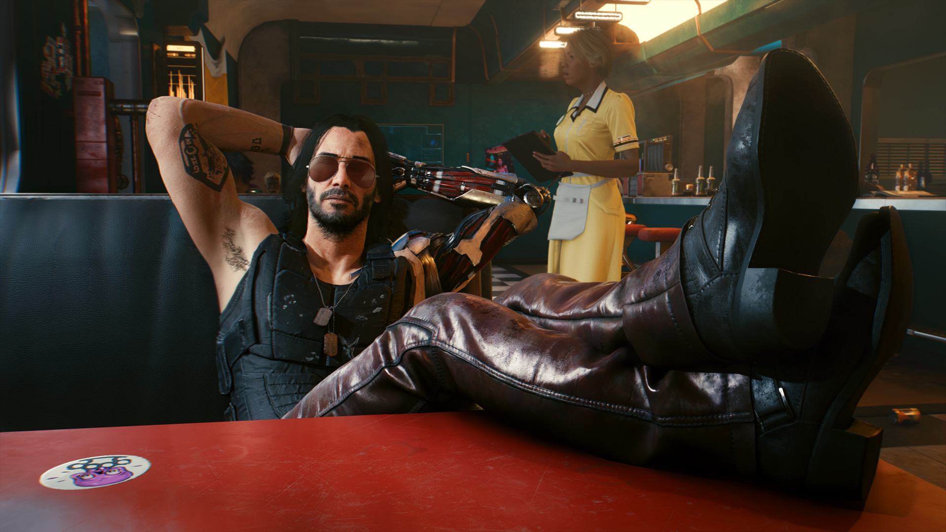 """Eine Szene aus dem Spiel """"Cyberpunk 2077"""". Bild: Presse/ CD Projekt RED"""