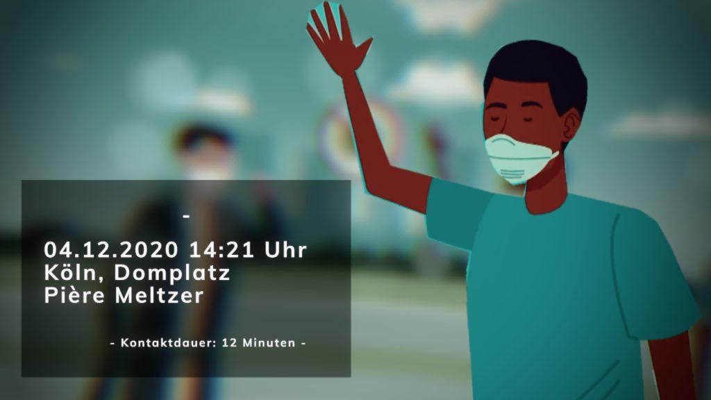 Jeder einzelne Kontakt muss im Falle einer Infektion gemeldet werden; Rechte: WDR/Schieb