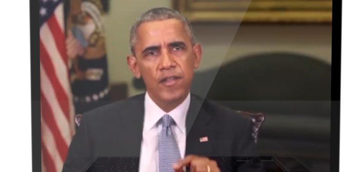 Das berühmteste Deep-Fake-Video: Barack Obama sagt Dinge, die er nie gesagt hat; Rechte: WDR/Schieb