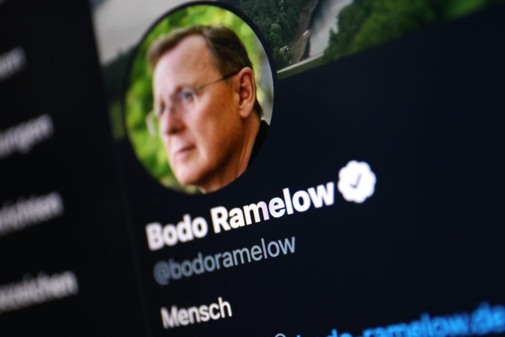 Bodo Ramelow musste sich auf Twitter erklären und entschuldigen; Rechte: WDR/Schieb