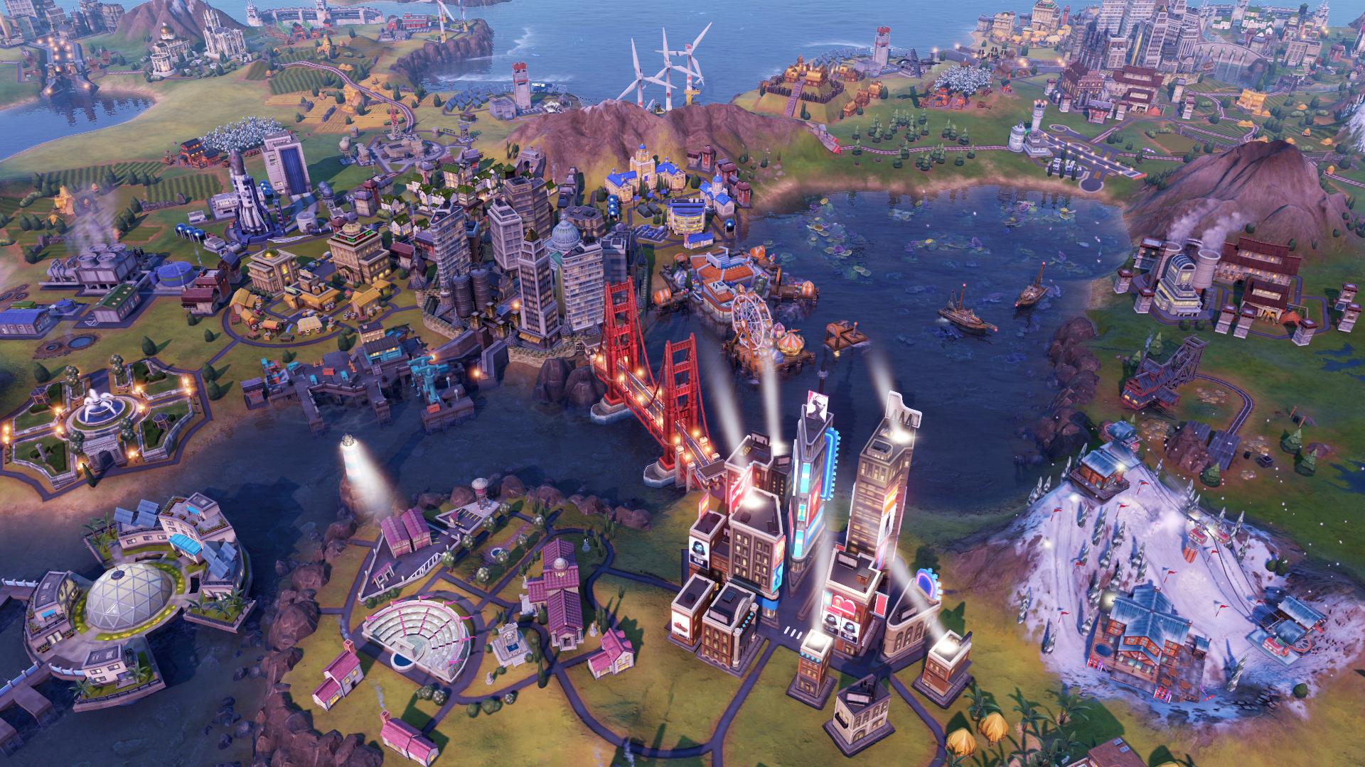 """Eine Szene aus dem Computerspiel """"Civilization VI"""". Bild: Civilization/2K Games"""
