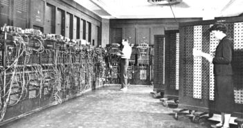 Originalaufnahme ENIAC; Rechte: Wikimedia/WDR/Schieb