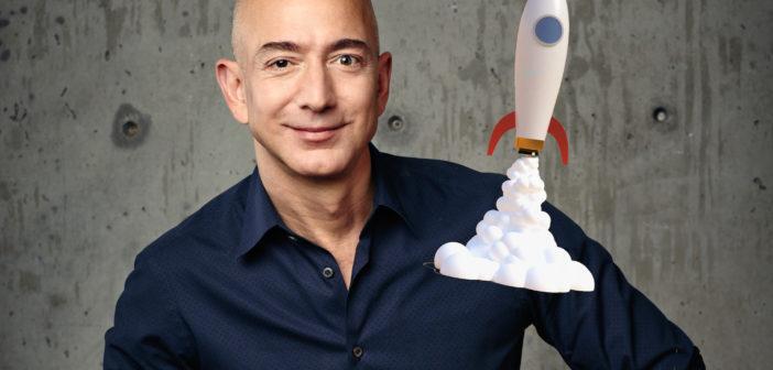 Jeff Bezos zieht es ins Weltall; Rechte: WDR/Schieb