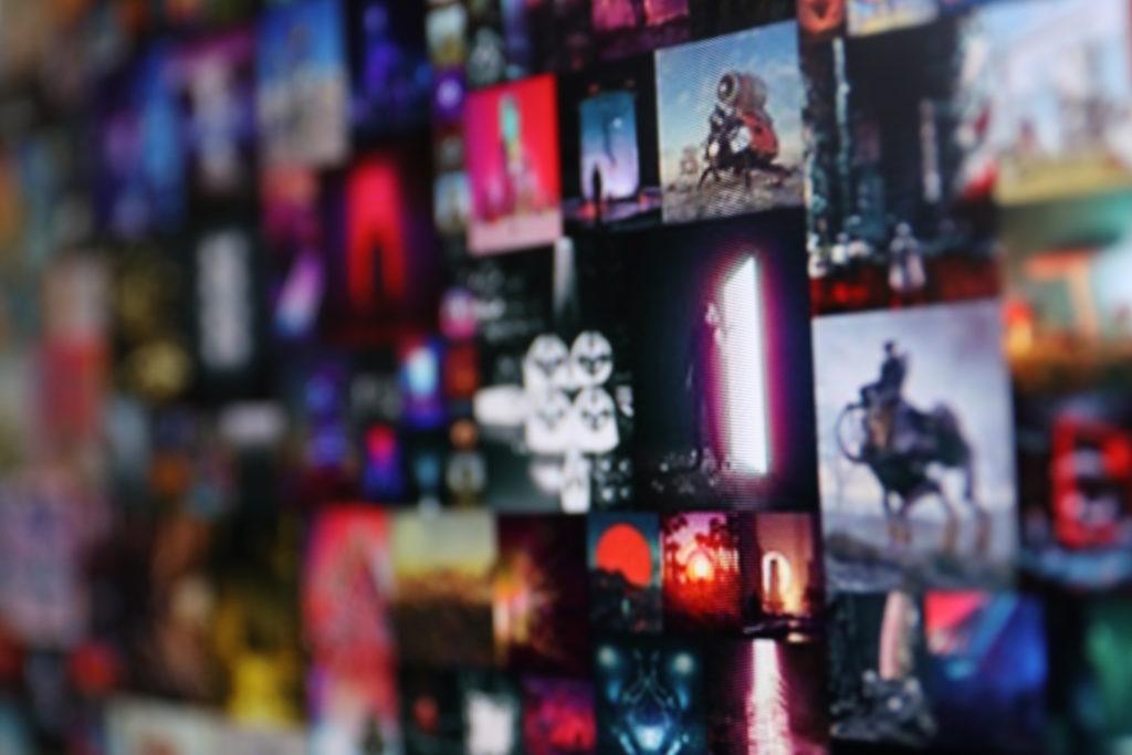 Ein Kunstwerk, das aus 5.000 Kunstwerken besteht; Rechte: WDR/Schieb