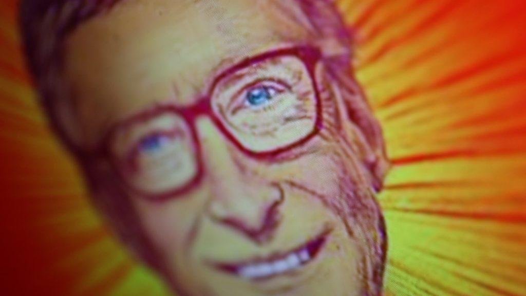 Hasafigur für viele: Verwschwörungserwähler unterstellen Bill Gates absurde Intentionen; Rechte: WDR/Schieb