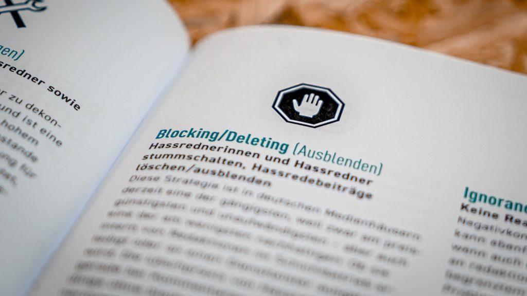 Hassrede: Ohne Blocken geht es nicht; Rechte: WDR/Schieb