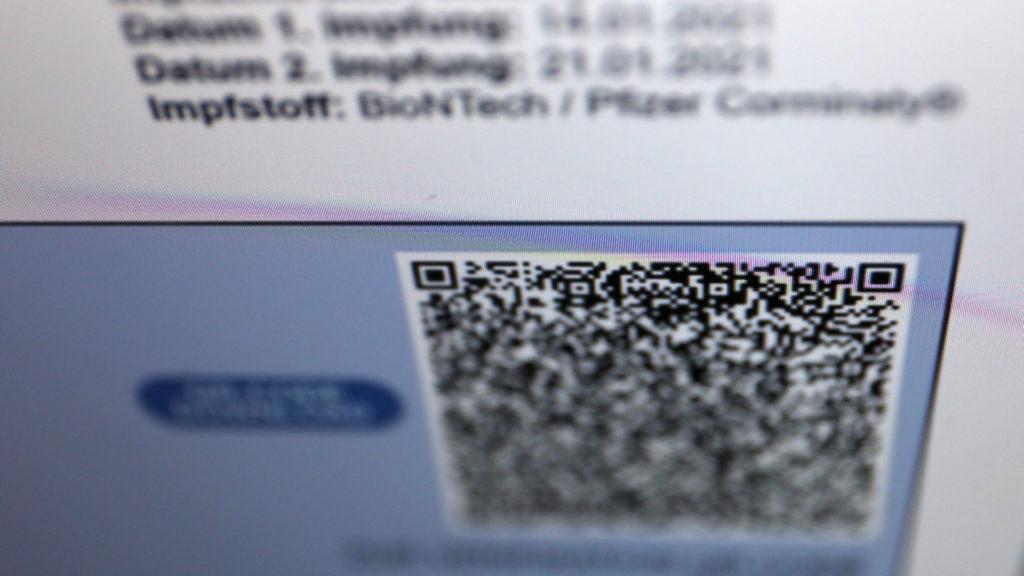 Ein individueller QR Code enthält alle relevanten Daten; Rechte: WDR/Schieb