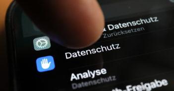 Datenschutz und Privatsphäre werden im neuen iOS groß geschrieben; Rechte: WDR/Schieb