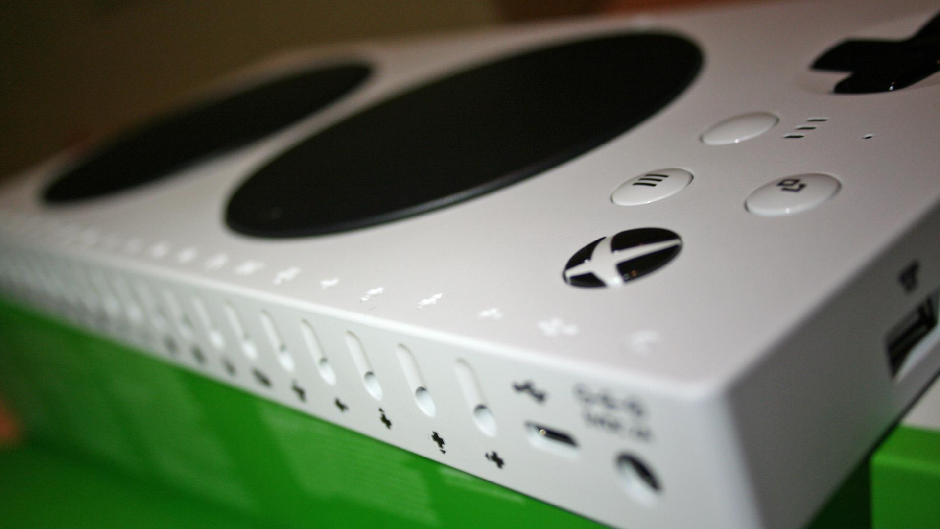 Der Adaptive Controller von Microsoft. Bild: Thomas Ruscher / WDR