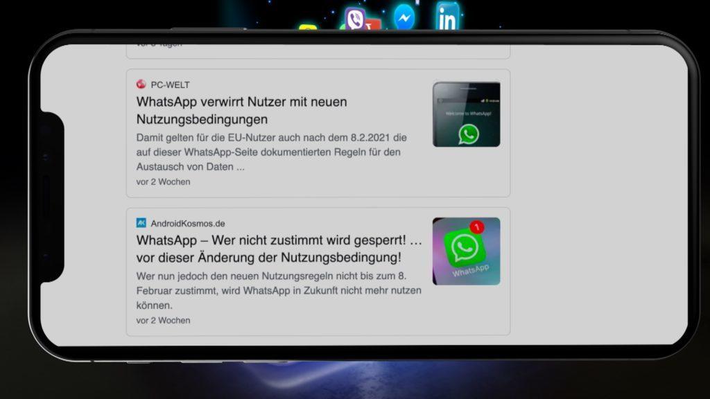 Neue WhatsApp-Regeln werden eifrig diskutiert, Rechte: WDR/Schieb