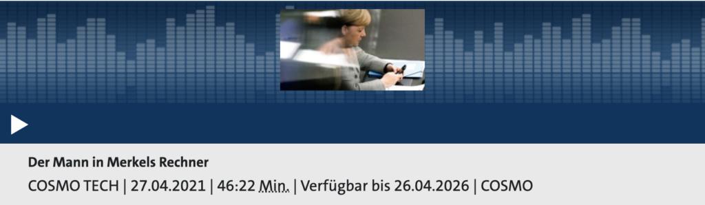 Cosmo Tech: Der Mann in Merkels Rechner