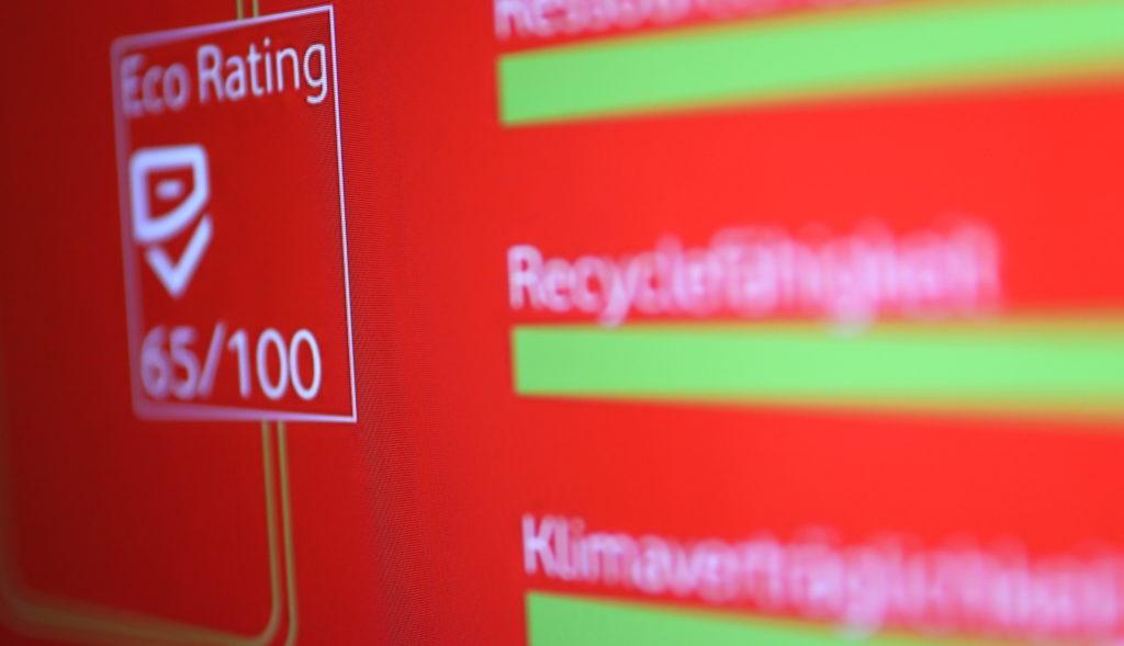 Eco Rating: Hardware wird nach diversen Aspekten bewertet; Rechte: WDR/Schieb