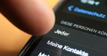 WhatsApp hat die Gruppen-Einstellung verändert; Rechte: WDR/Schieb