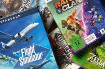Ein Stapel von Videospielpackungen. Bild: Thomas Ruscher/ WDR