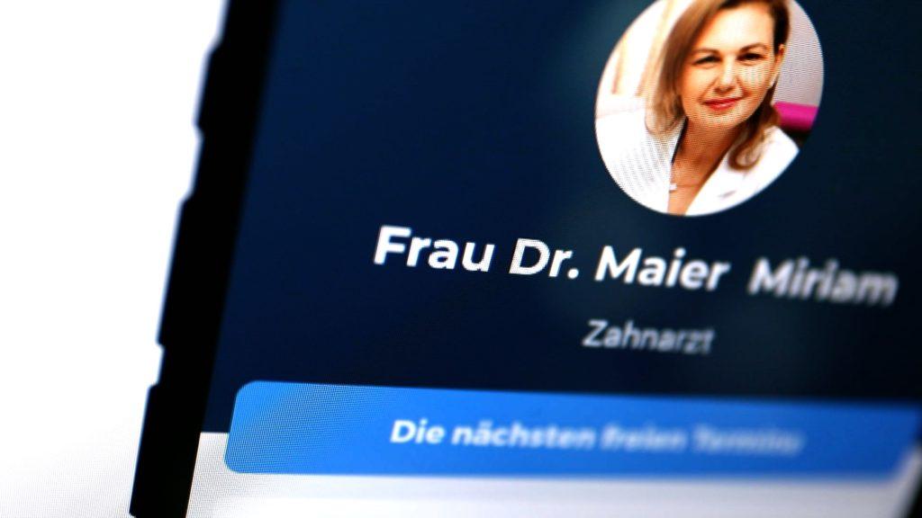 Doctolib. Nachlässiger Umgang mit Patientendaten; Rechte: WDR/Schieb