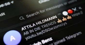 Große Reichweite: Rund 100.000 Follower auf Telegram; Rechte: WDR/Schieb