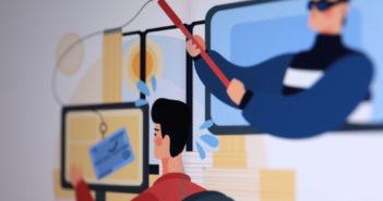 Phishing ist eine perfide Methode, um Opfern sensible Daten zu entlocken; Rechte: WDR/Schieb