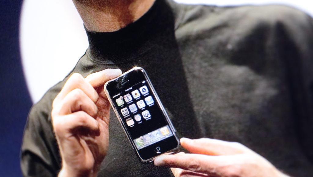 Das erste iPhone kam erst 2007 auf den Markt; Rechte: WDR/Schieb